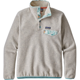 Patagonia W's Lightweight Synch Snap-T Pullover Oatmeal Heather